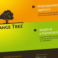Orange Tree - webové stránky